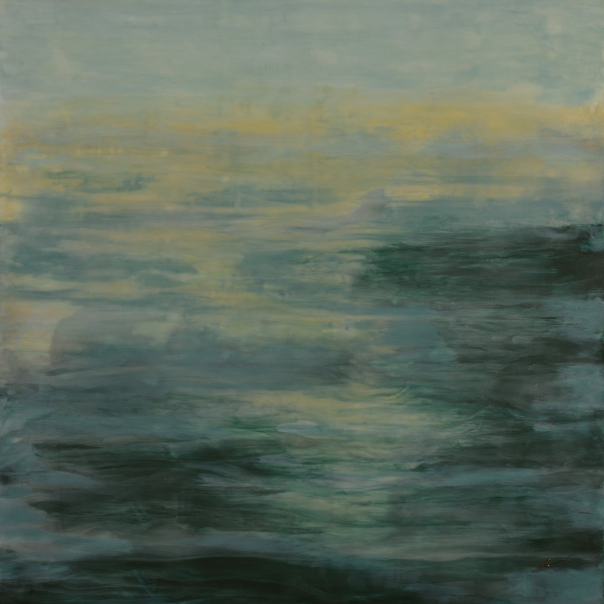 Sinking into Dusk by Shima Shanti