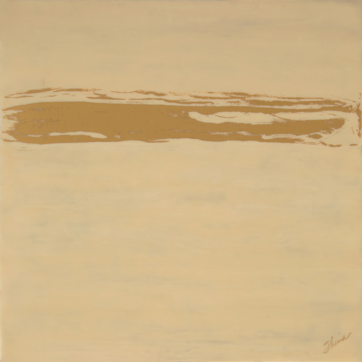 The Golden Barrier by Shima Shanti