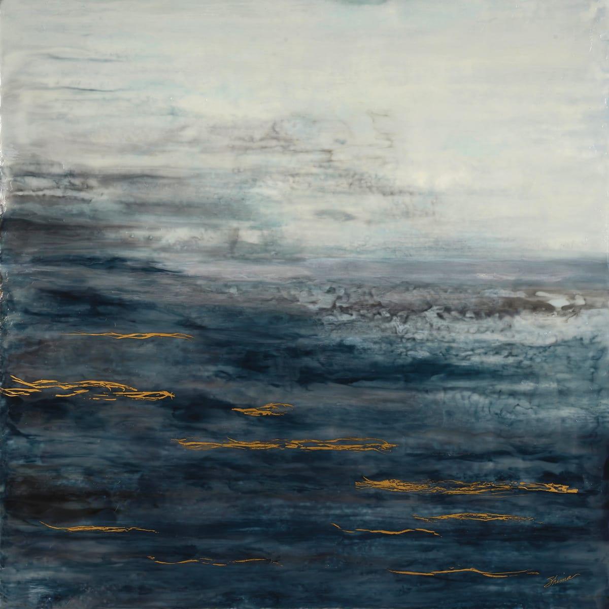 Waves on Nightfall by Shima Shanti