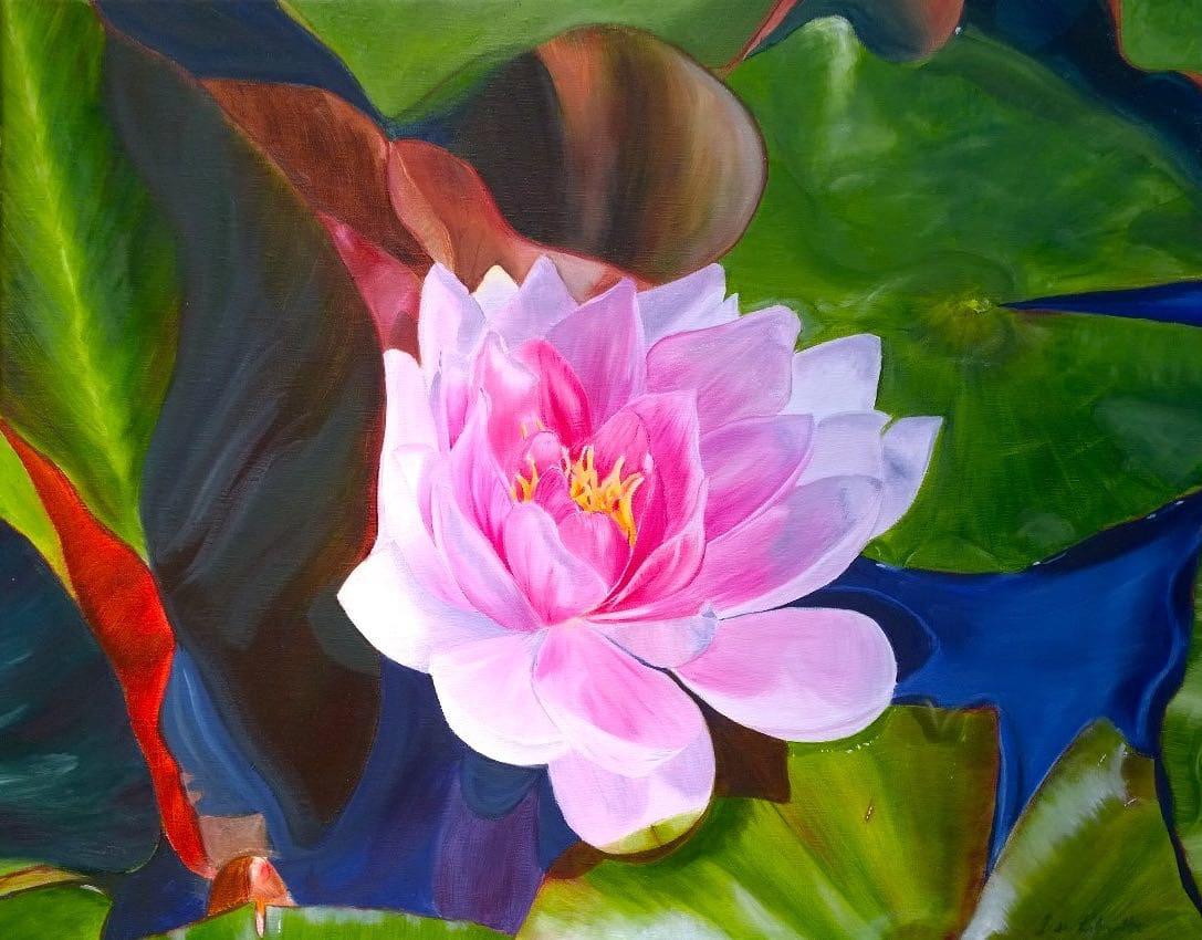 Kew Lily by Lisa Libretto