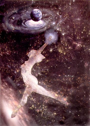 Cosmic Dance II by Merrilyn Duzy
