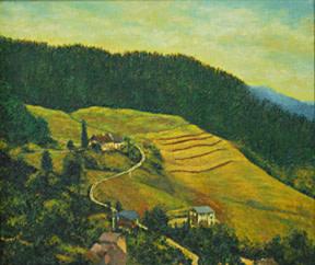 German Landscape by Merrilyn Duzy