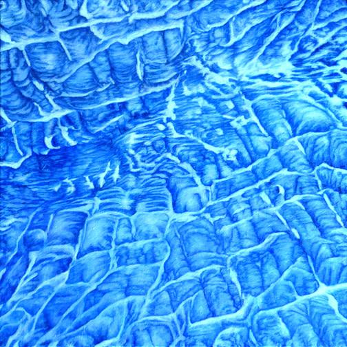 Glacier Abstracted