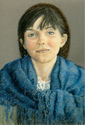 Renaissance Girl by Merrilyn Duzy