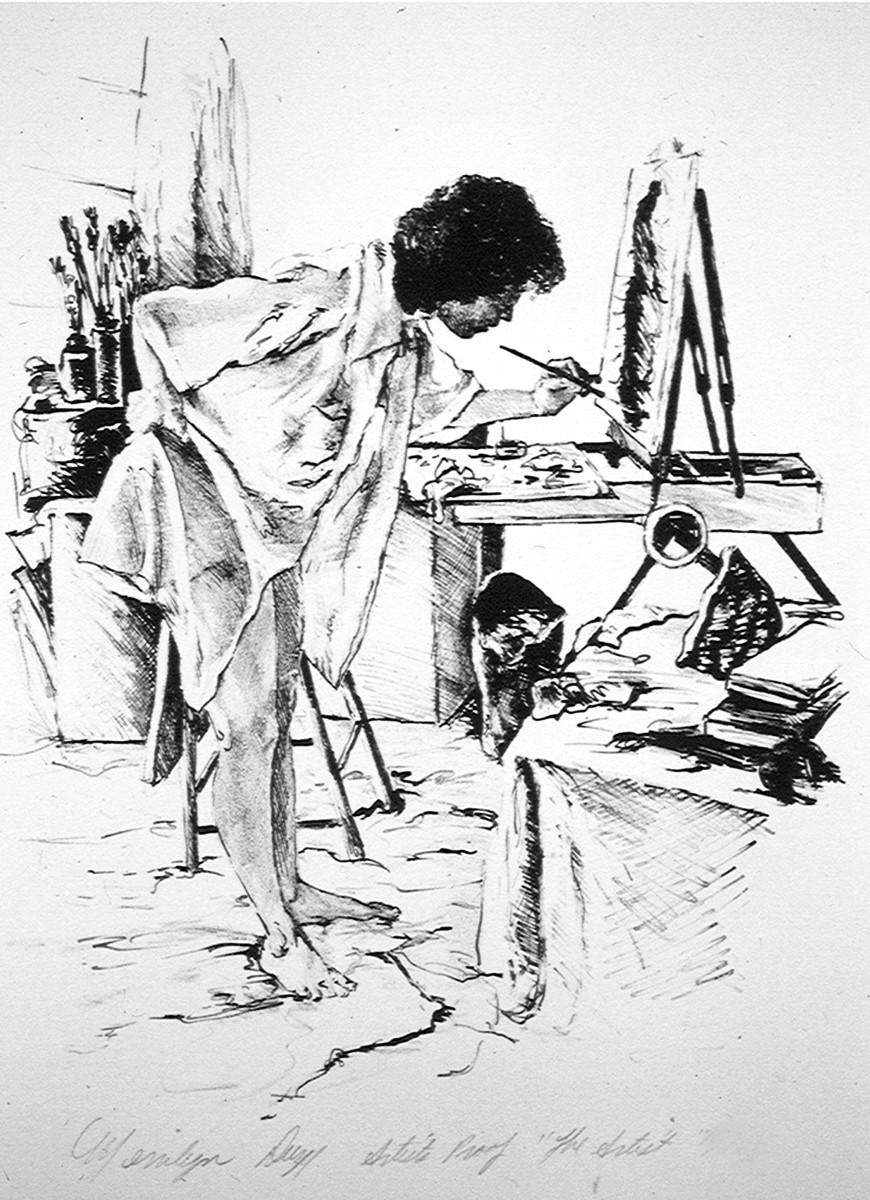 The Artist by Merrilyn Duzy