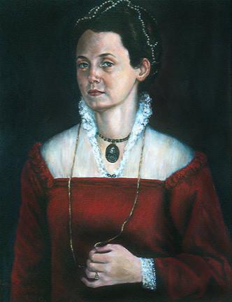 Victoria Masotti as Sofonisba Anguissola by Merrilyn Duzy