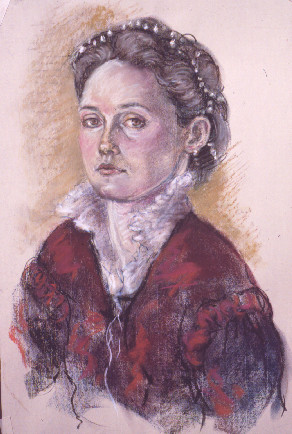 Victoria Masotti as Sofonisba Anguissola II by Merrilyn Duzy
