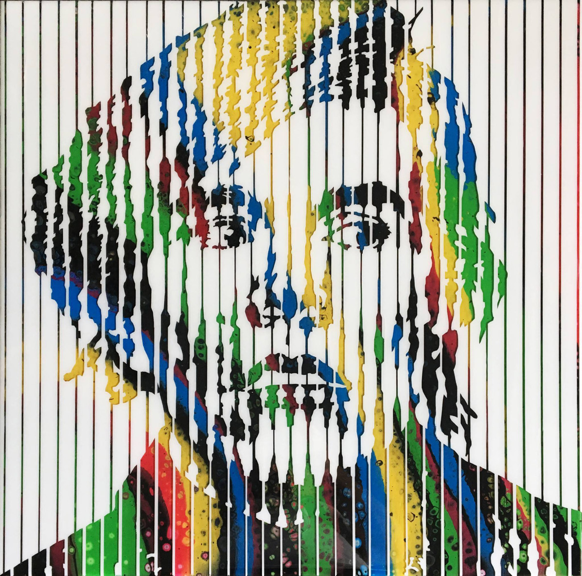Andy Warhol (Collaboration with Angie Evans) by Sean Christopher Ward