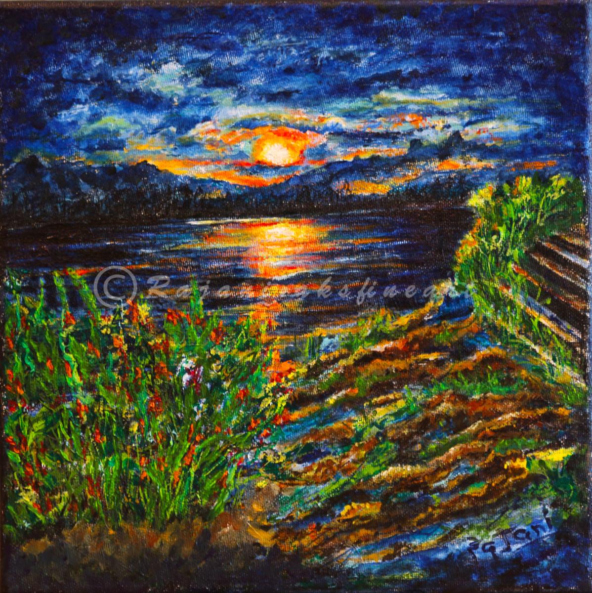 Sunset by Sea by Rajani Ambade