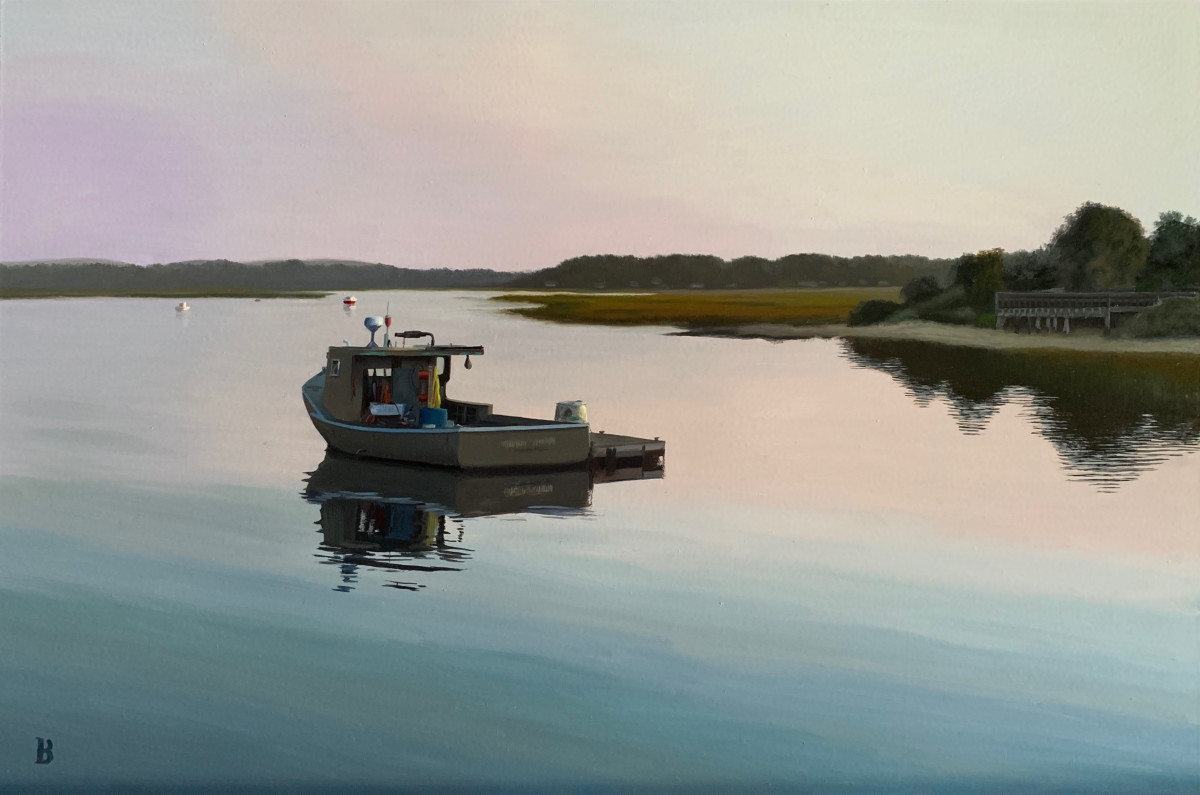 Off Harbor Road by Paul Beckingham
