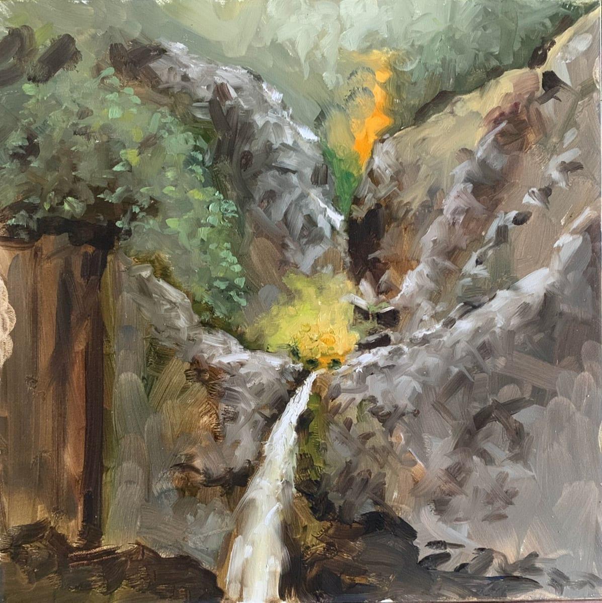 Hedge Creek Falls I by Paul Beckingham