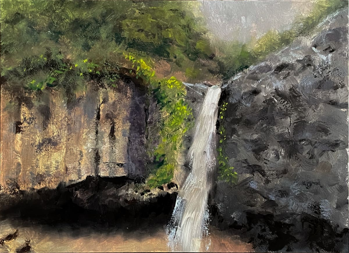 Hedge Creek Falls II by Paul Beckingham