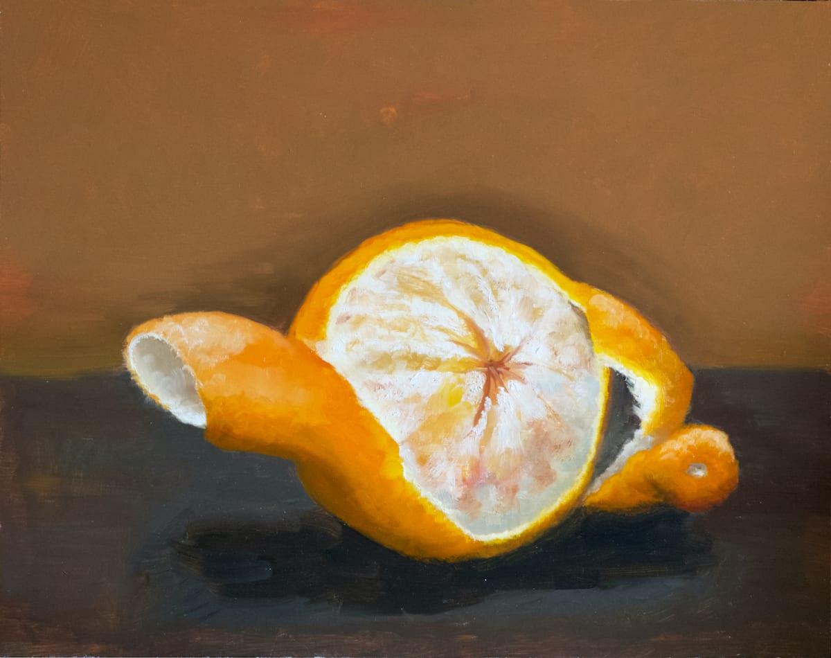 Tangello Peeled III by Paul Beckingham