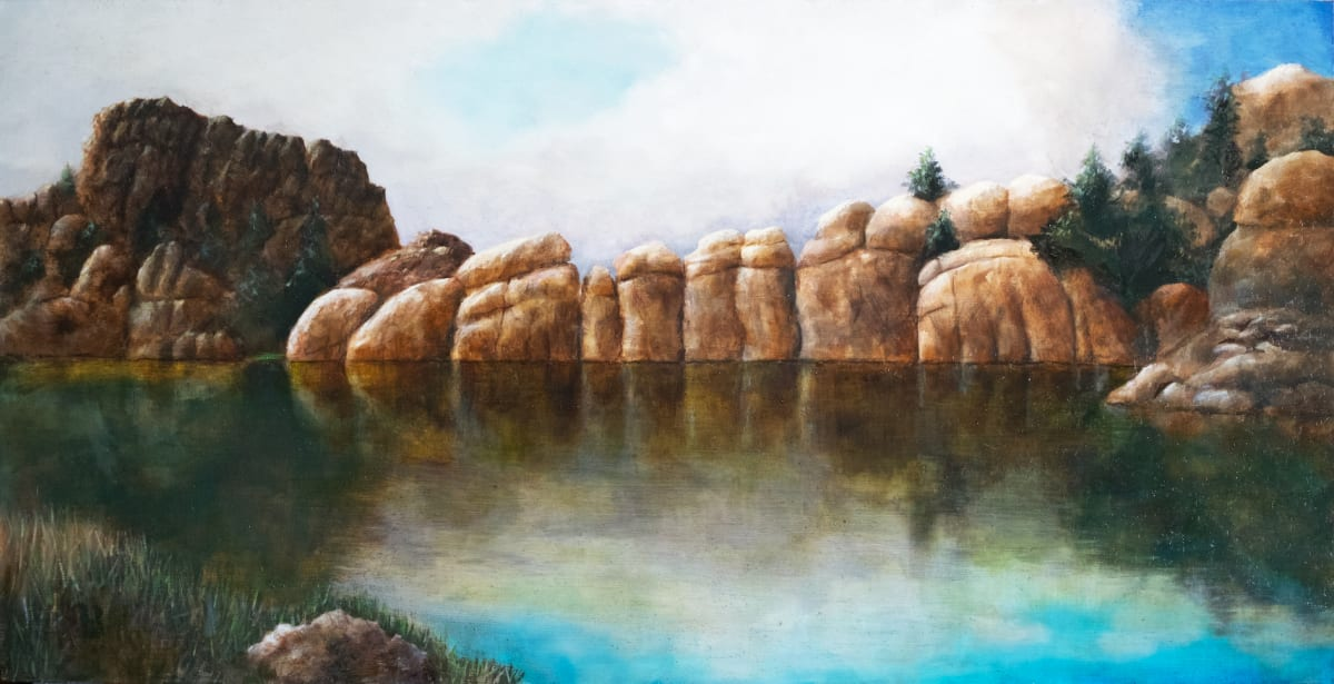Sylvan Lake by Paul Beckingham