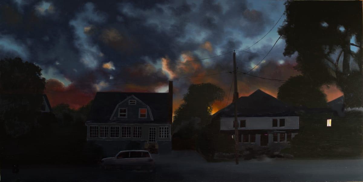 Hurricane Sunset by Paul Beckingham