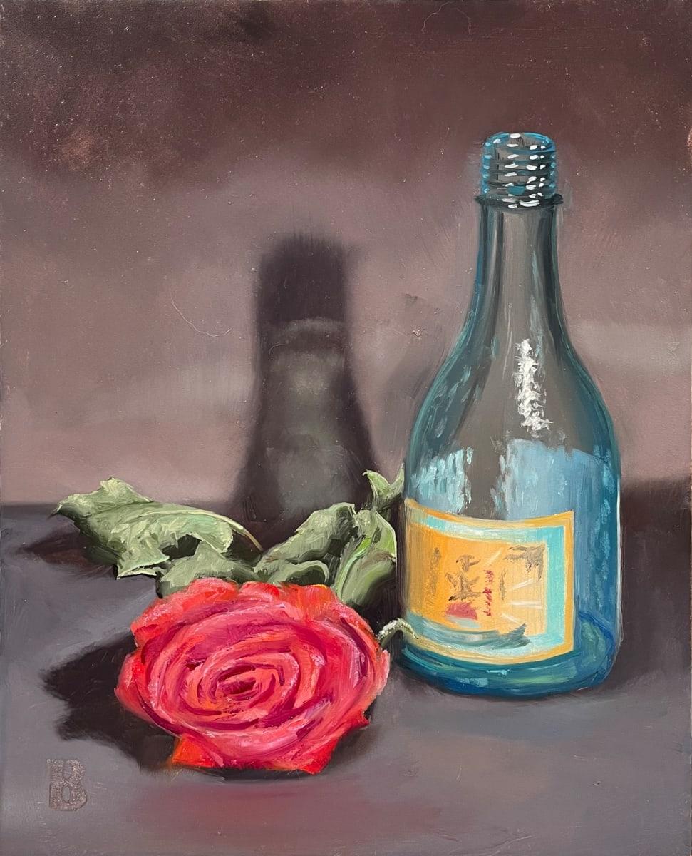 Sake & Rose by Paul Beckingham