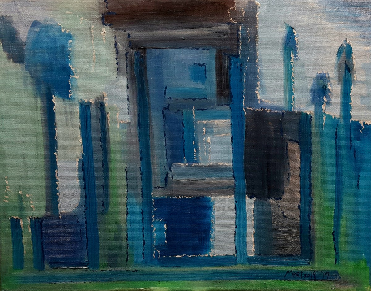 Blue House by Dave Martsolf