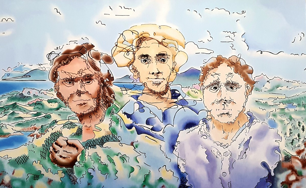 Three Men by Dave Martsolf