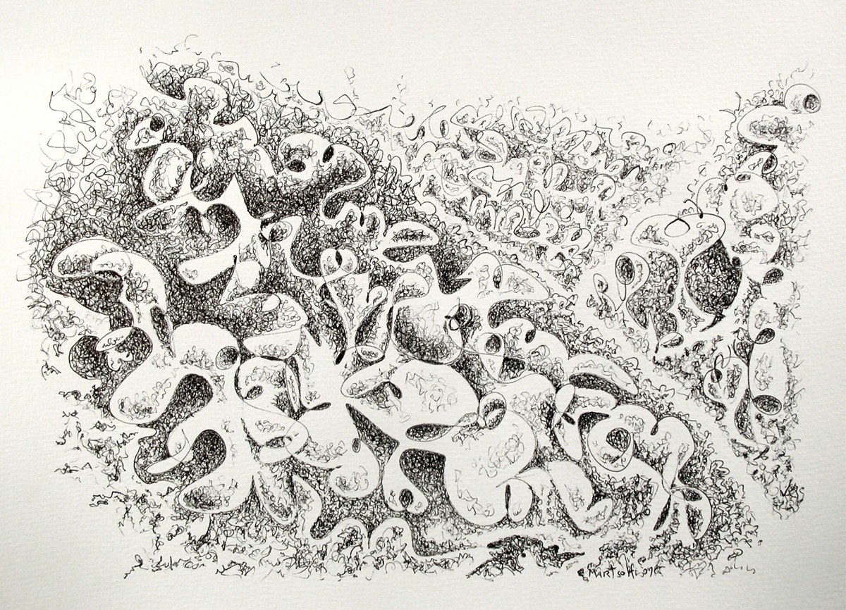 Bone Pile of Unused Shapes by Dave Martsolf