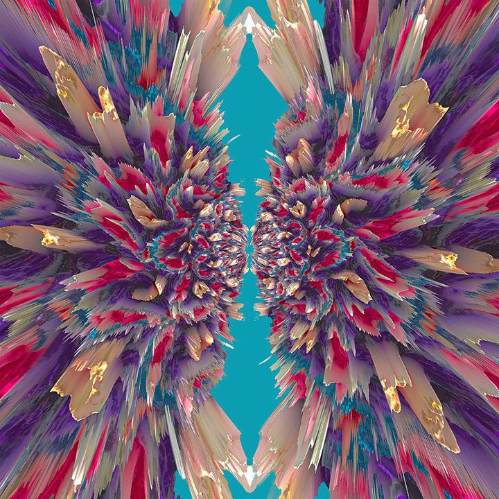 Ruffled by Y. Hope Osborn  Image: Textured series Ruffled