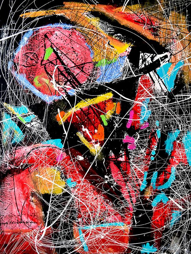 STILLED MOON by Lia Galletti