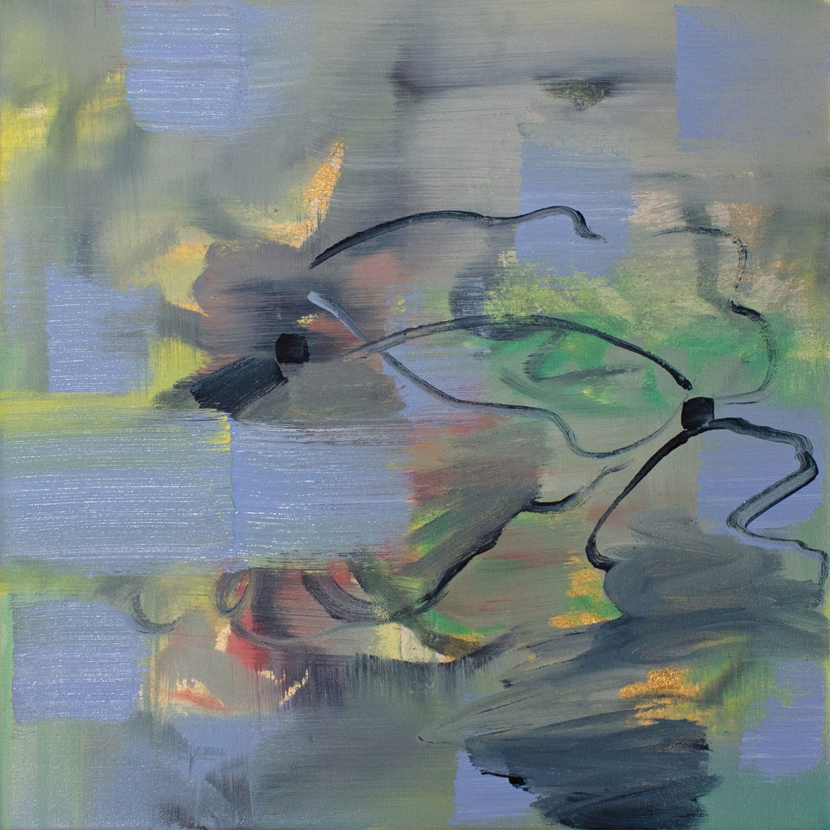 Abstract Study (floating) by Pamela Staker