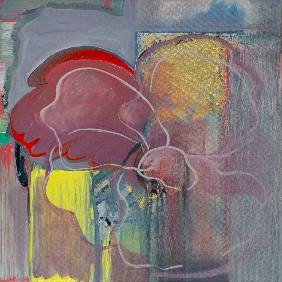 Abstract Study (poppy) by Pamela Staker
