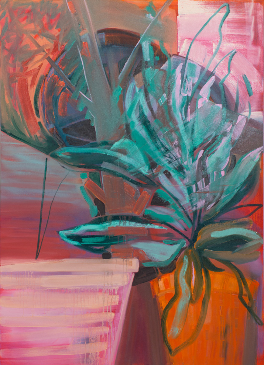 Abstract Study (potted plant no.4)