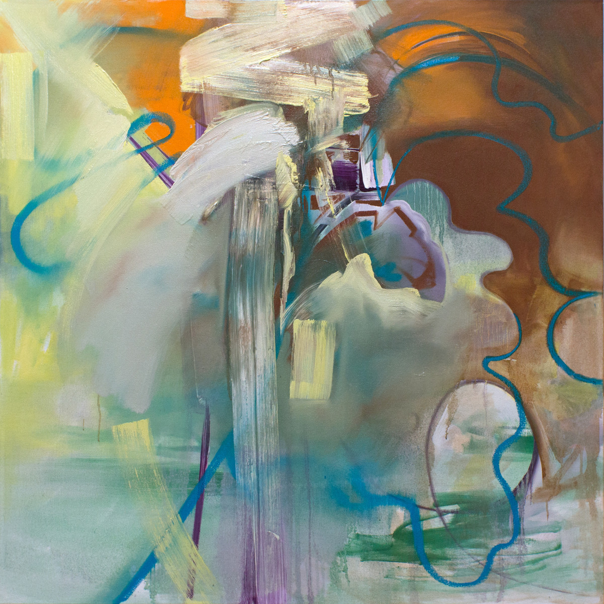 Abstract Study (new day) by Pamela Staker
