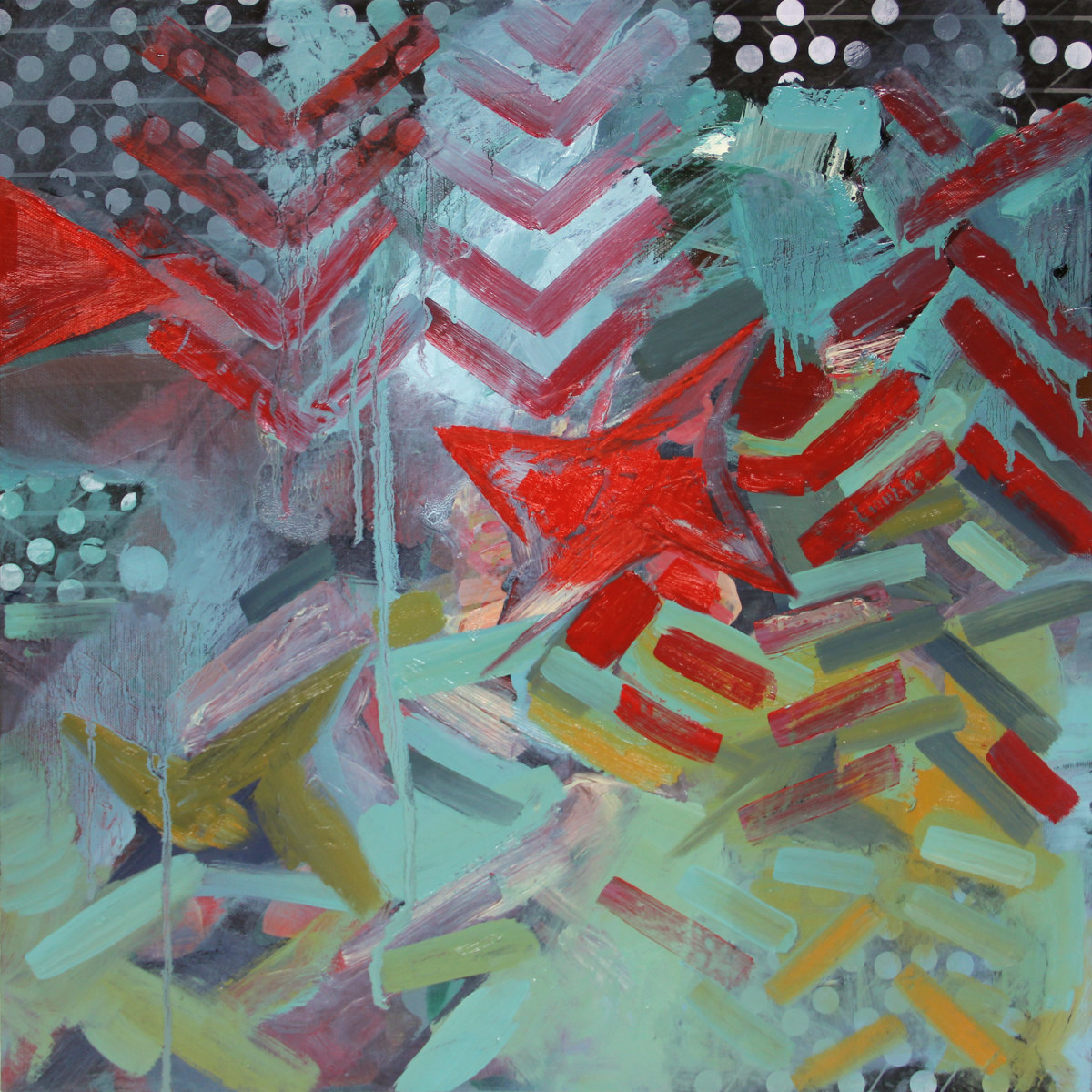 HT Abstraction 1 by Pamela Staker