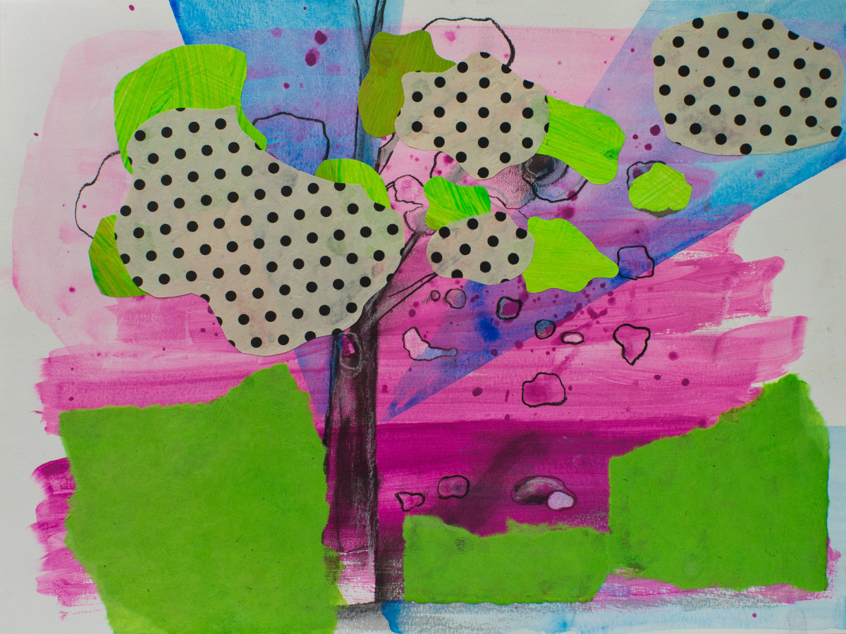 Interior/Exterior (polka dots) by Pamela Staker