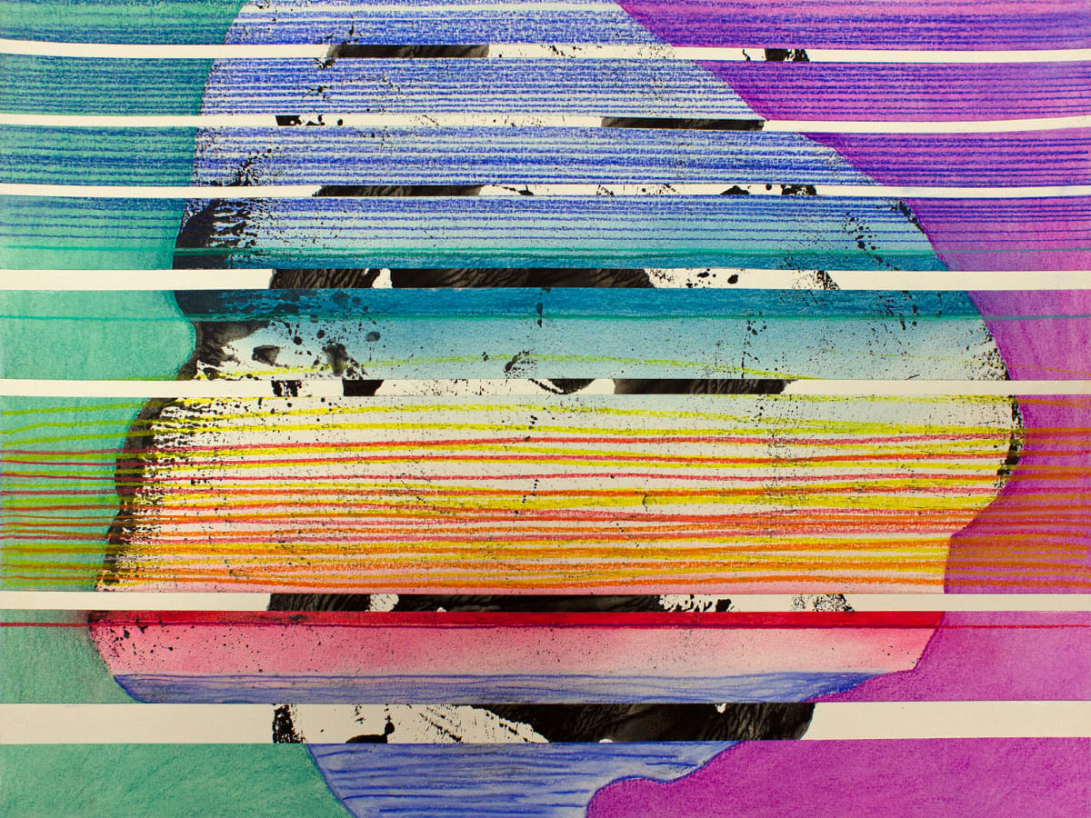 Stacked Horizons (rainbow no.1) by Pamela Staker