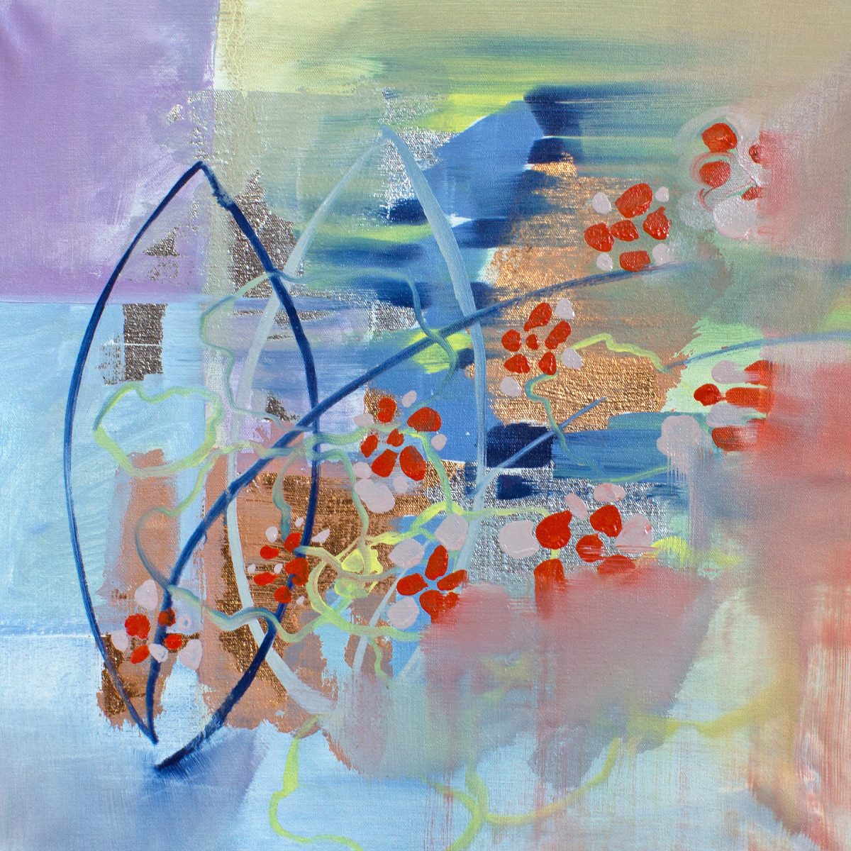 Abstract Study (red petals)