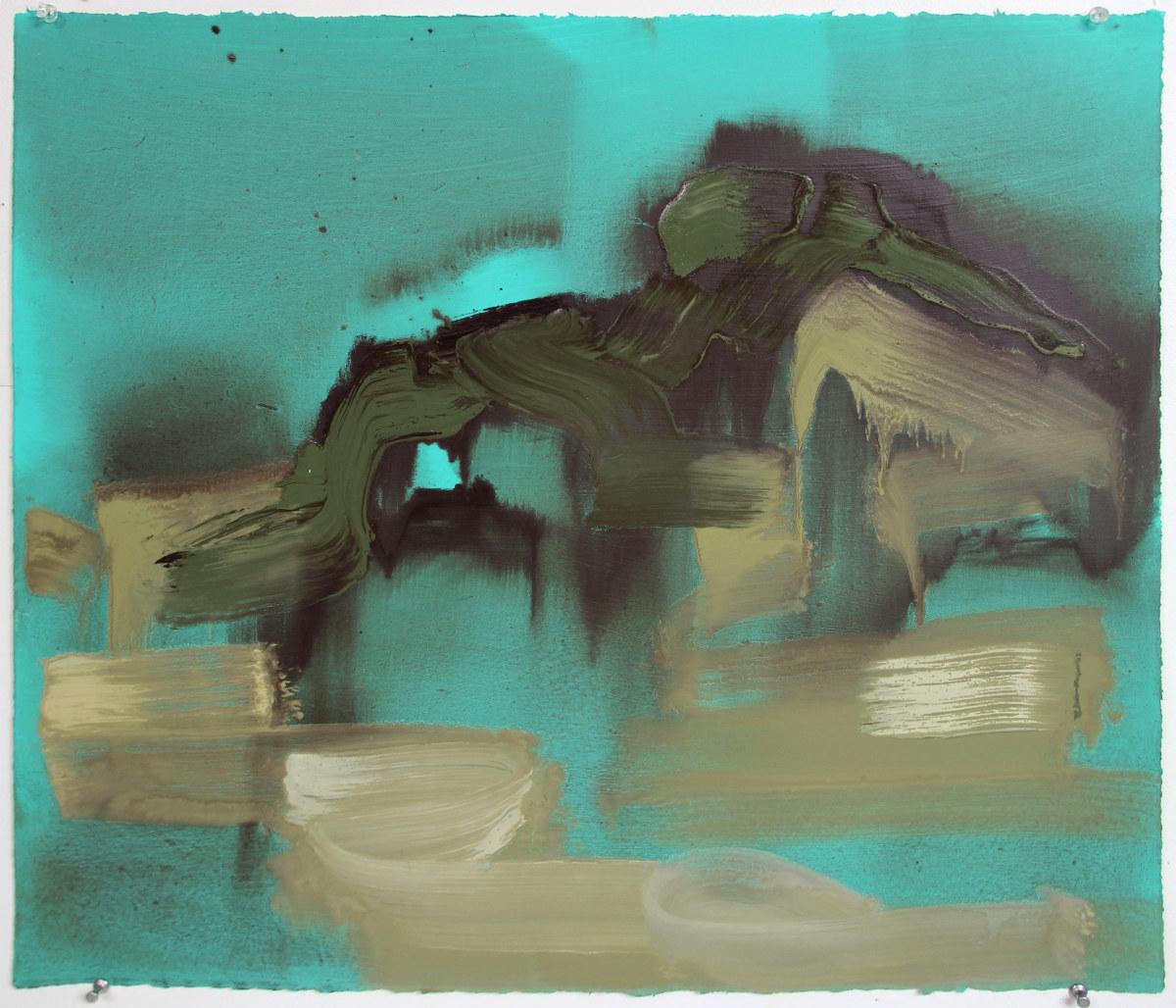 Abstract Landscape (ocean 4) by Pamela Staker