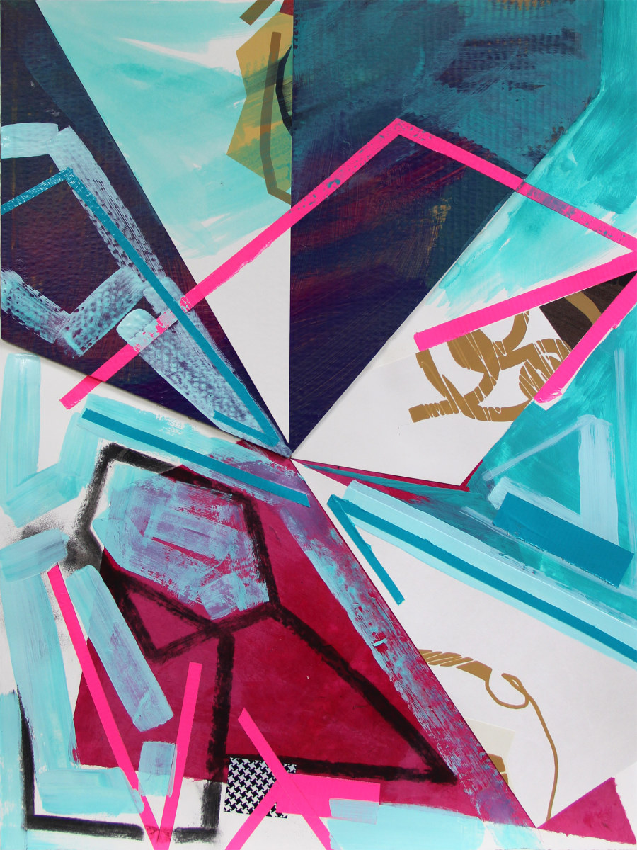 Abstract Study (picnic) by Pamela Staker