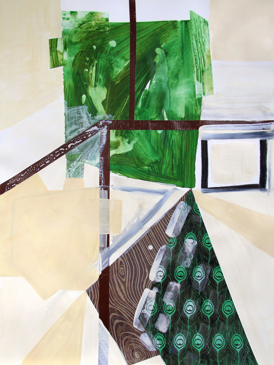 Abstract Study (trail map) by Pamela Staker