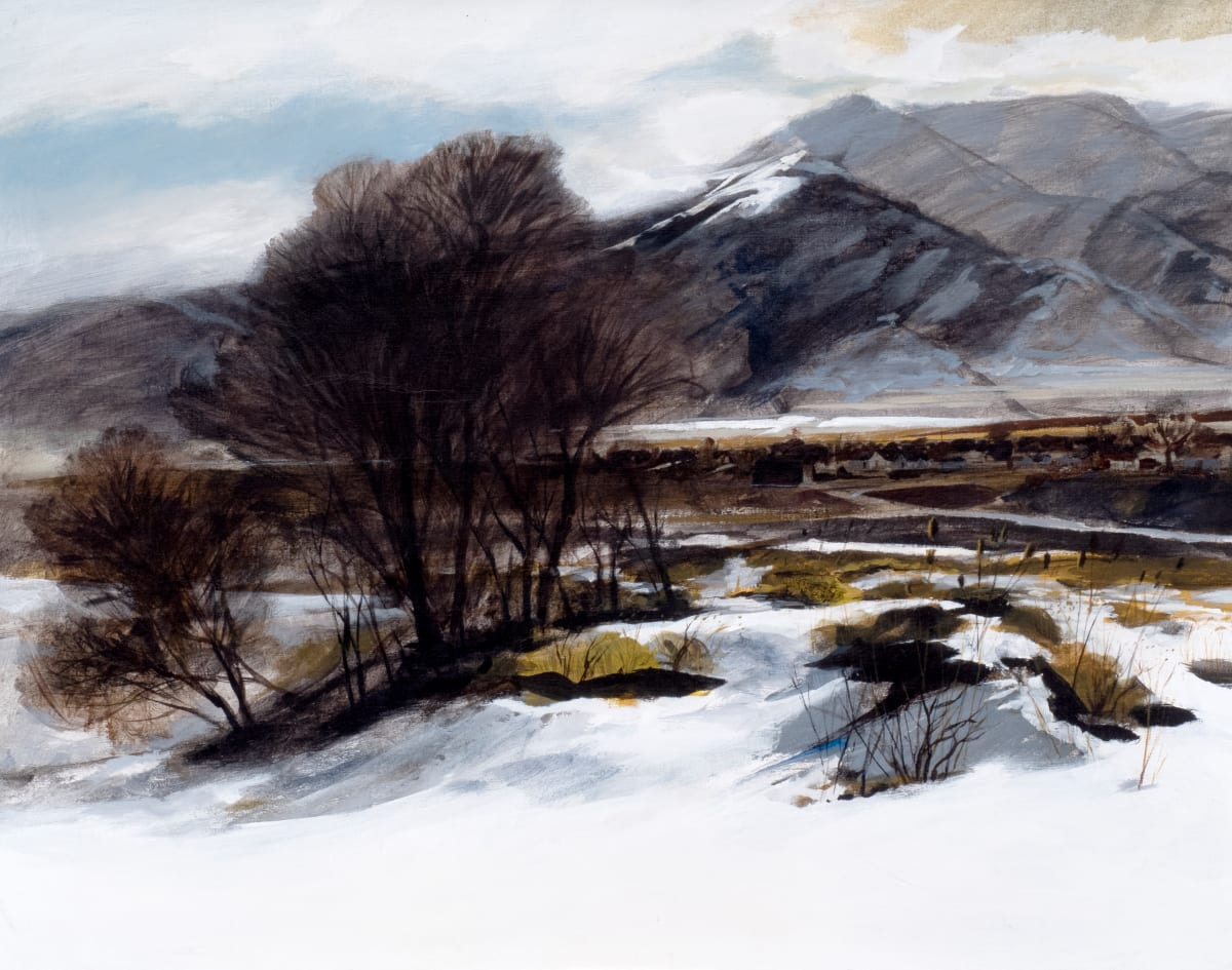 Cache Valley Landscape by Harrison Groutage