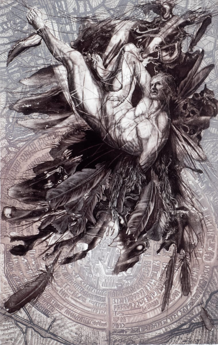 Urban Icarus by Victoria Goro-Rapoport