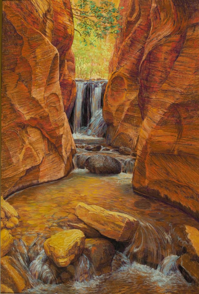 Ashdown Kanarraville Falls by Arlene Braithwaite