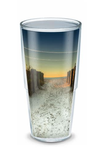 Pier Beach Tervis Tumbler 24oz By Bill Mckim