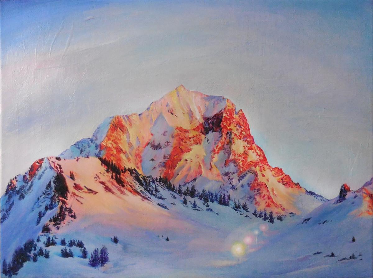 Alpenglow by Anne Wölk