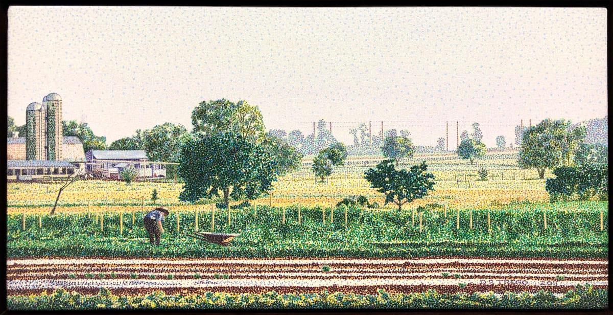 Pointillism by Douglas Trego
