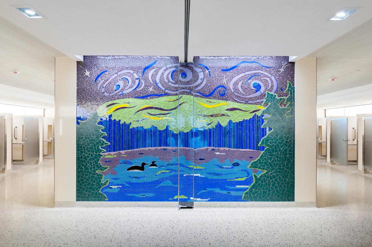 Northern Lights: Summer Swim by Stacia Goodman