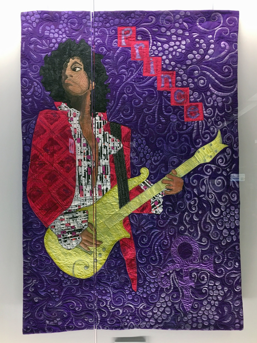 His Purple Reign: A Textural Tribute to Prince by Textile Center