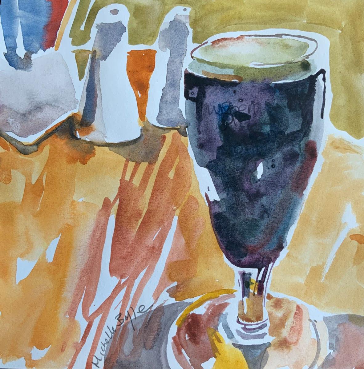 Glass of Guinness Davy Byrnes Dublin