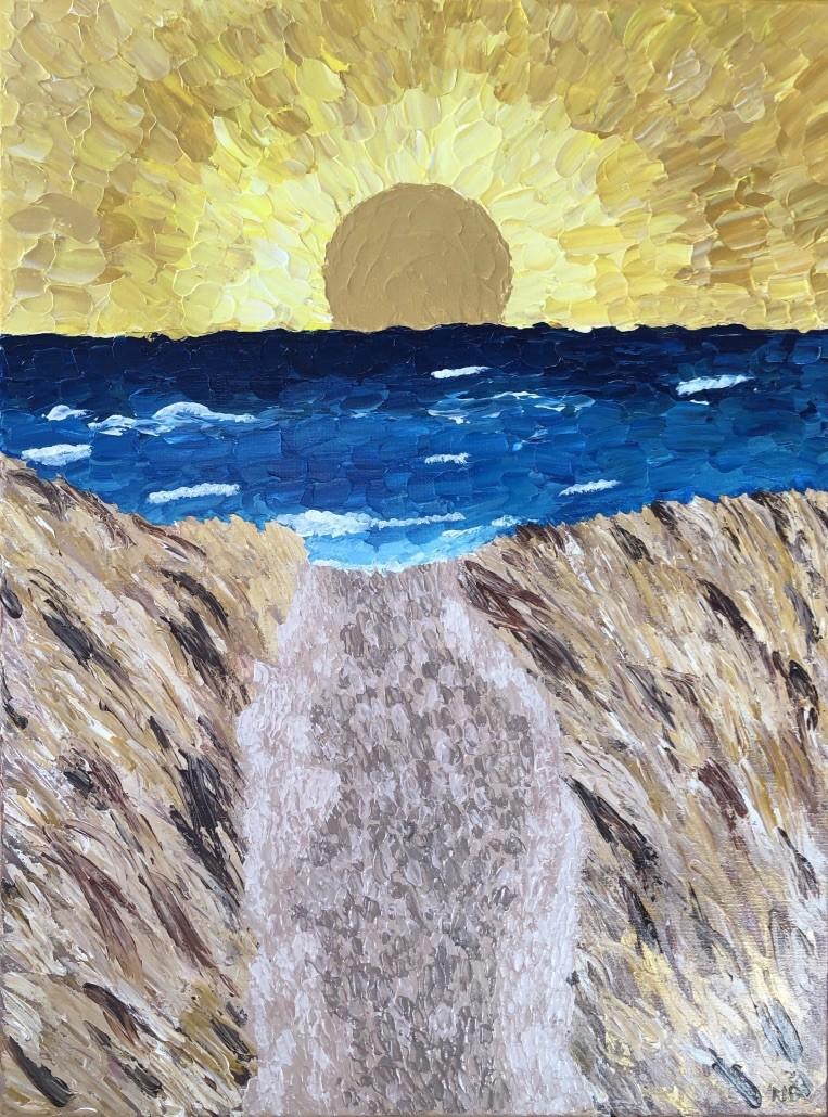 Beach Day by Michelle Brown