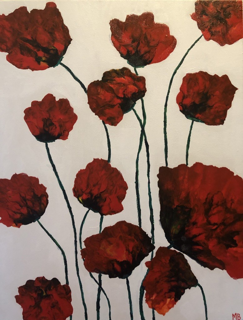 Red Poppies by Michelle Brown