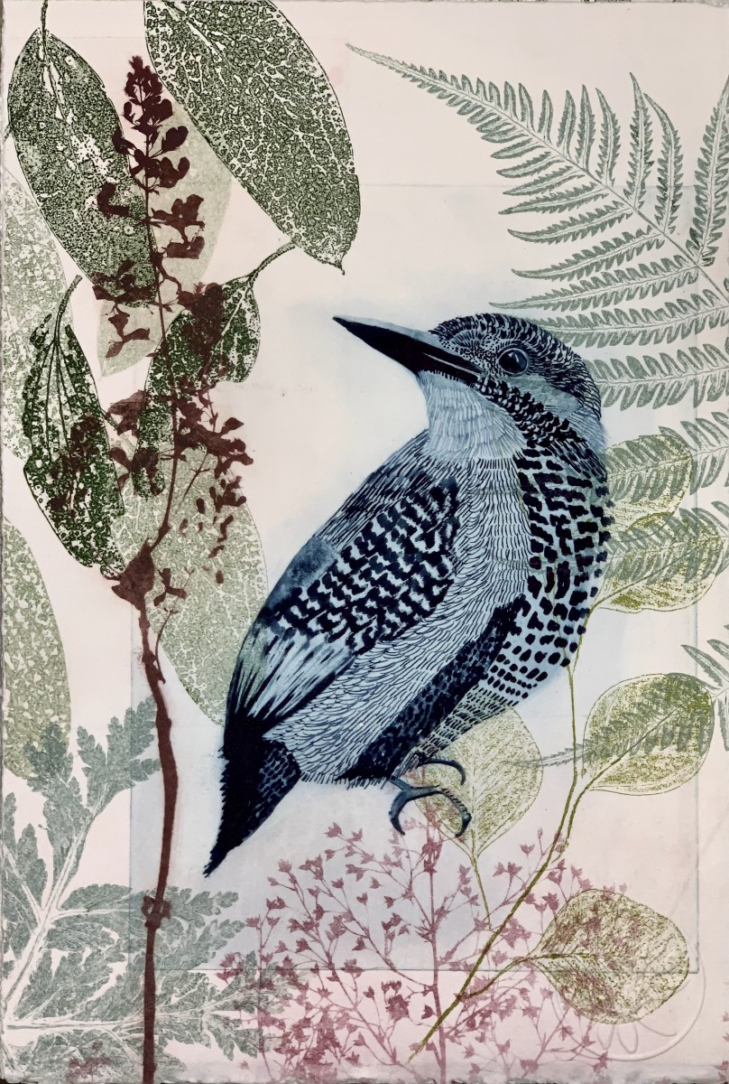 King Fisher and liriope