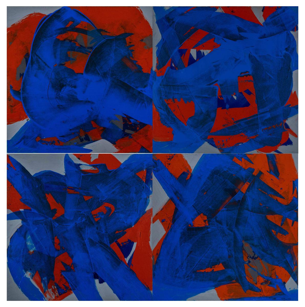 covid C Quartet by Alix Gonzalez Dumka