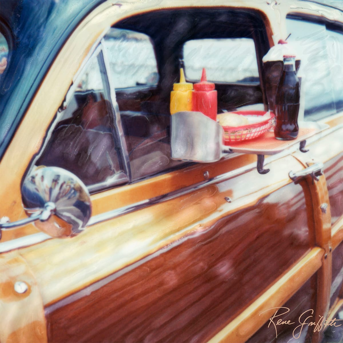 Drive-In Woody by Rene Griffith